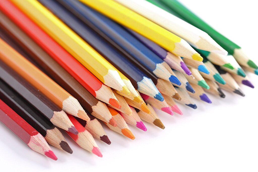 Что такое цветные карандаши